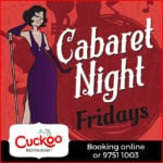 Cabaret Night at Cuckoo