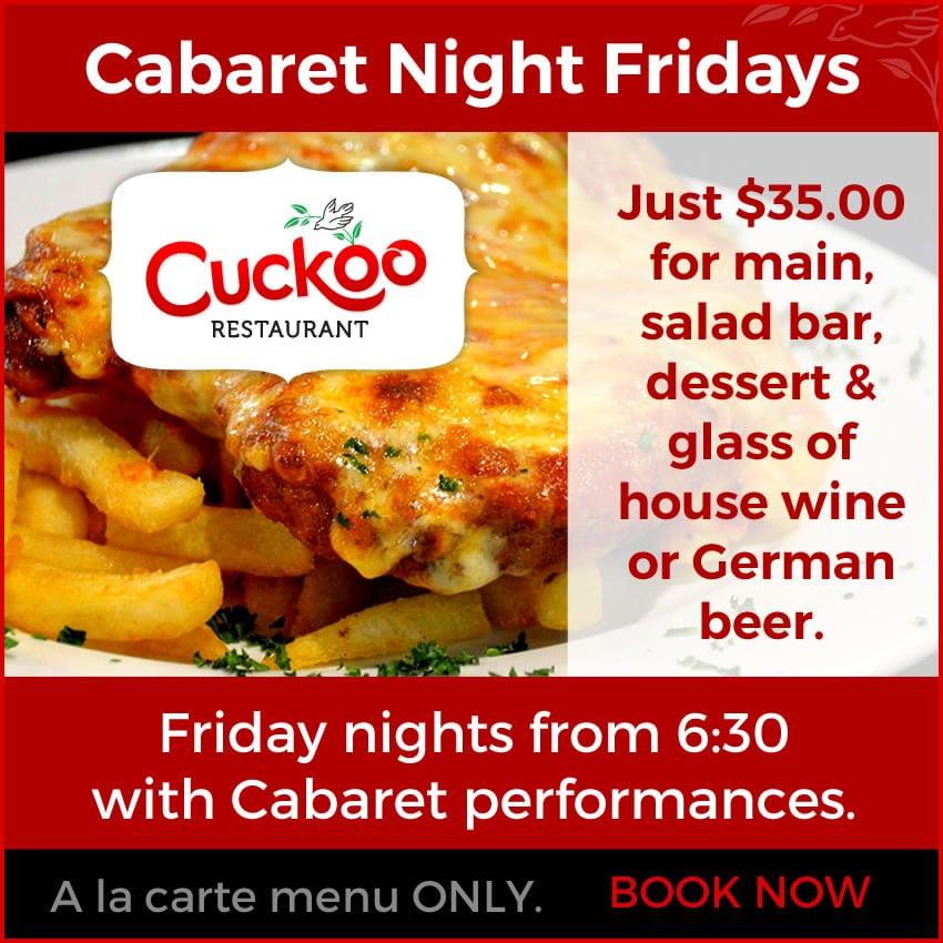 Cuckoo Cabaret Fridays