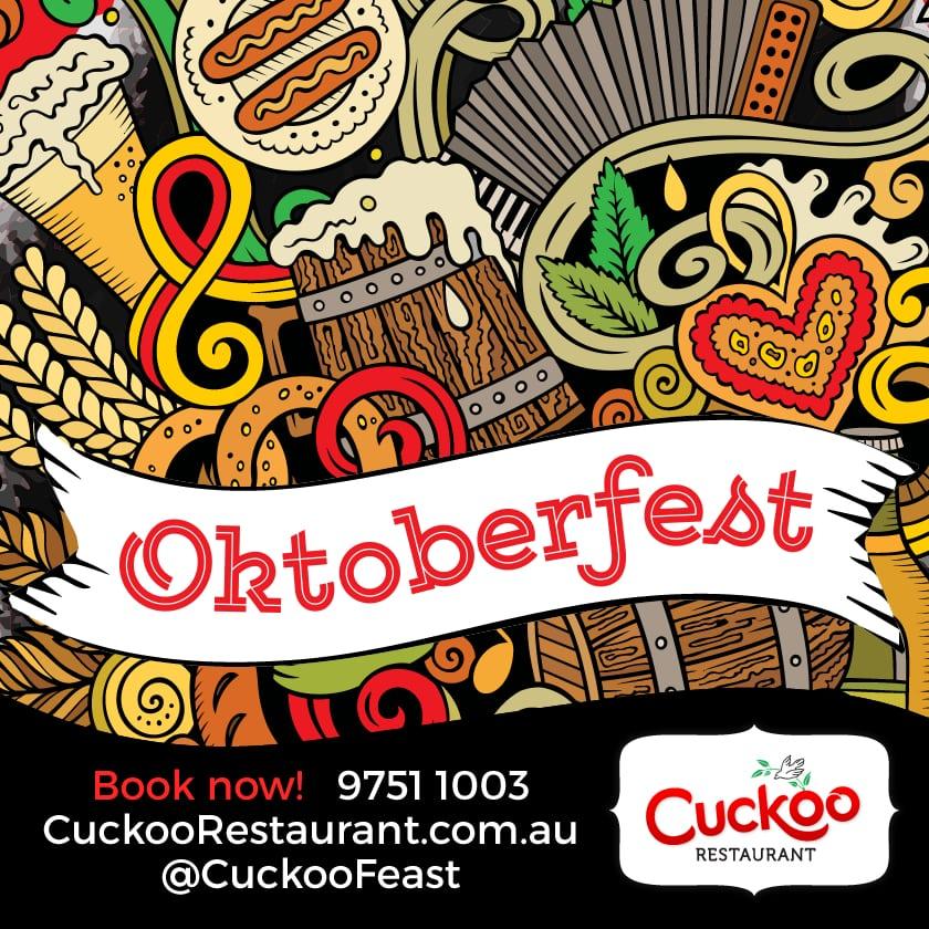 Oktoberfest 2017 Cuckoo